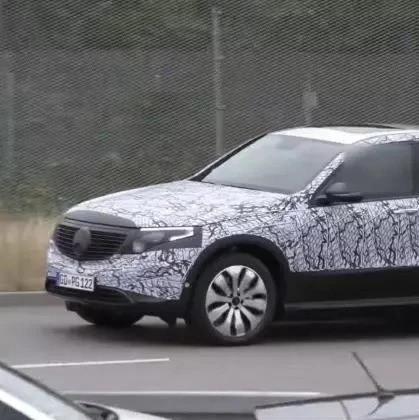 奔驰发布EQC纯电动SUV预告片 9月4号正式发布量产车