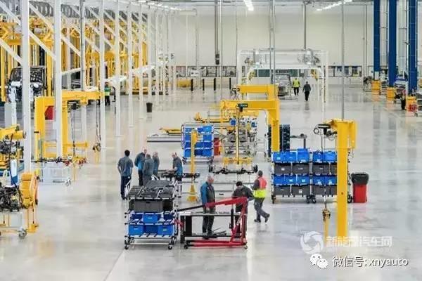 吉利商用车考文垂基地安斯蒂工厂正式落成