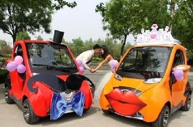 丽驰电动:原创、轻量、时尚、个性  打造世界时尚电动汽车第一品牌
