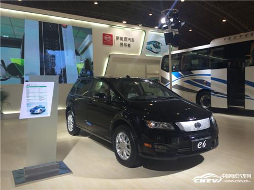 比亚迪商用车再战北京电动车技术展示交易会