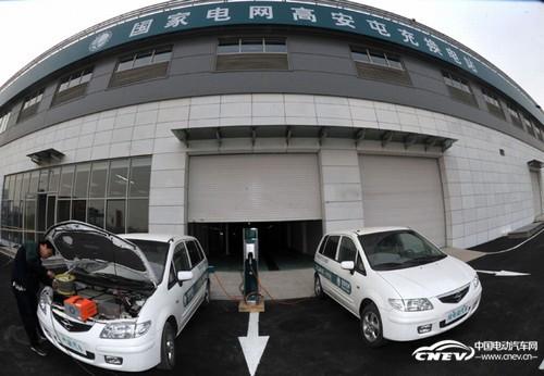 安徽首座电动汽车换电站在合肥投运 服务于经开区公交