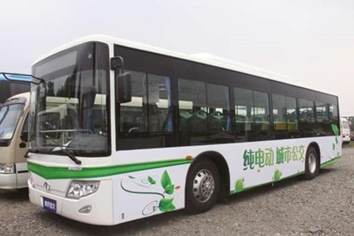 南京金龙23款新能源客车 获准进入客运市场