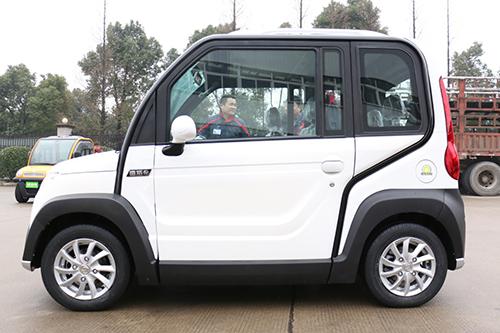 常州的速派奇车业有限公司在2016年1月份发布了旗下最新款小型电动车.