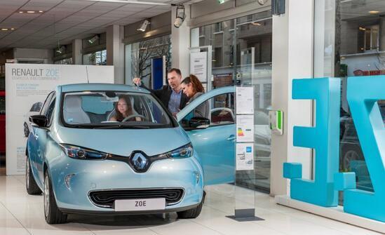 雷诺2015年称霸欧洲电动汽车市场