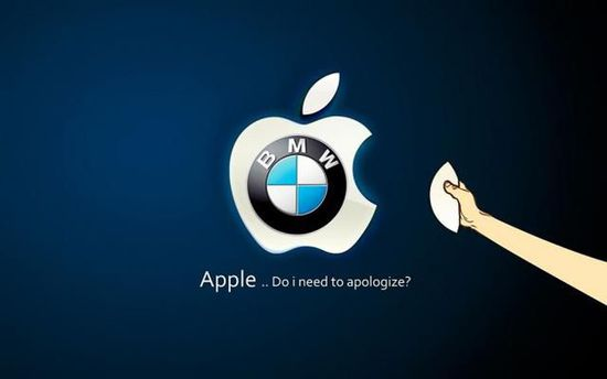 宝马否认与苹果合作开发汽车