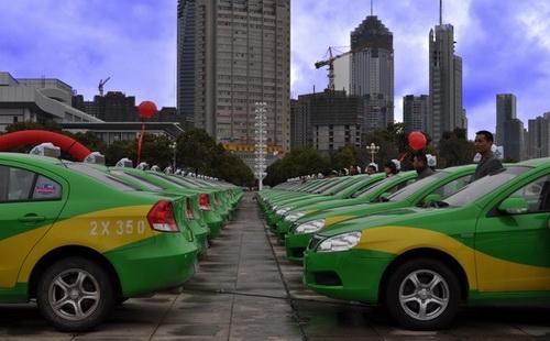南昌目前已拥有2011辆新能源汽车