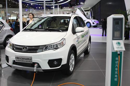纯电动车成为汽车财产开展新动能