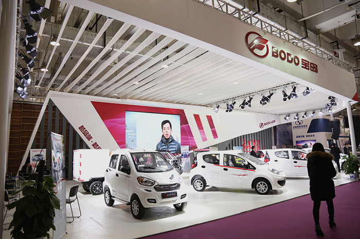 三款最新车型亮相济南展 宝岛强势竞争2016年市场