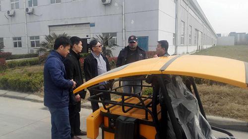 中国制造之低速电动车将走向美军基地!
