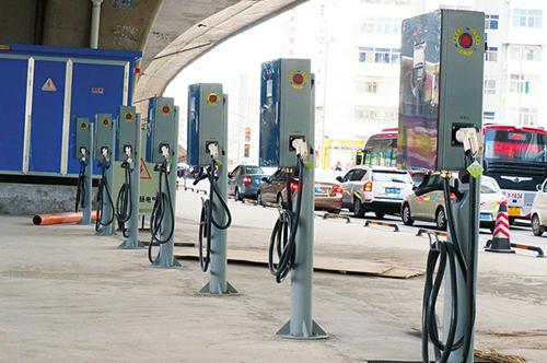 济南新能源汽车充电桩面临尴尬