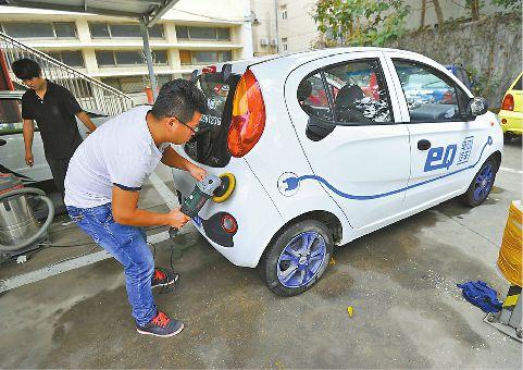 河北:自有车位建自用电动汽车充电设施可不备案