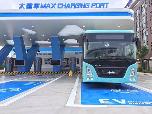 聊城2020年以前要建成14000个电动汽车充电桩