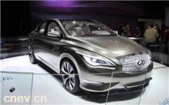 英菲尼迪正式发布了LE电动概念车