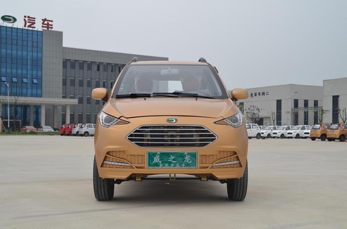 威龙携首款锂电电动汽车灵龙亮相,行业新生力量助阵南京展