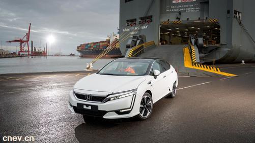 本田首批氢燃料电池汽车开始交车
