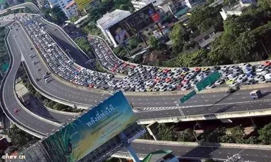 泰国:日系车占据市场主流 罕见新能源汽车
