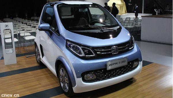 众泰E200增至4款车型 售4.98-6.48万元