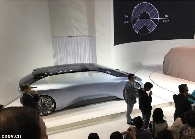 【2017上海车展】蔚来EVE无人驾驶概念车