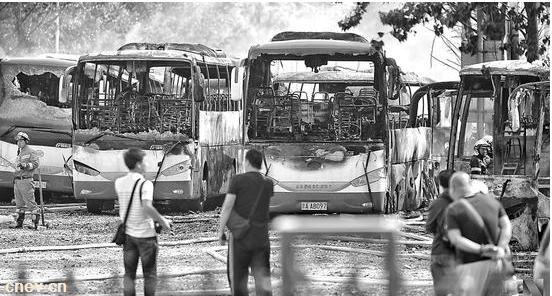 蟹岛火灾安凯客车被烧掉:已卖给天马通驰 补贴未到手