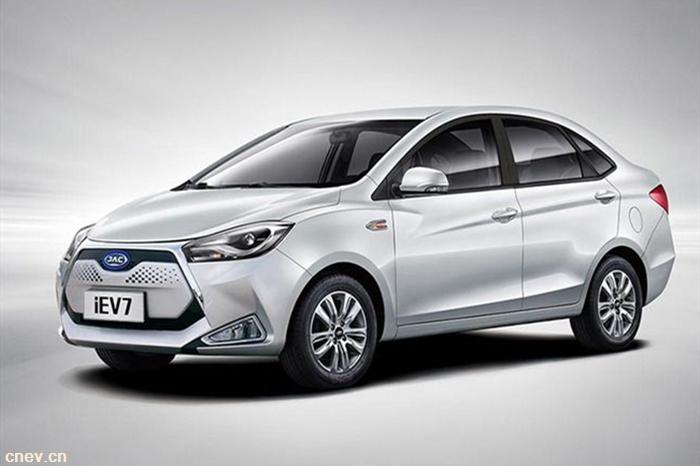 江淮纯电动汽车发力 5月销售达2756辆销量增7成