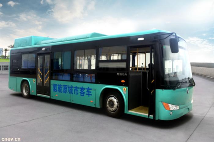 陆地方舟的氢燃料电池客车来了!