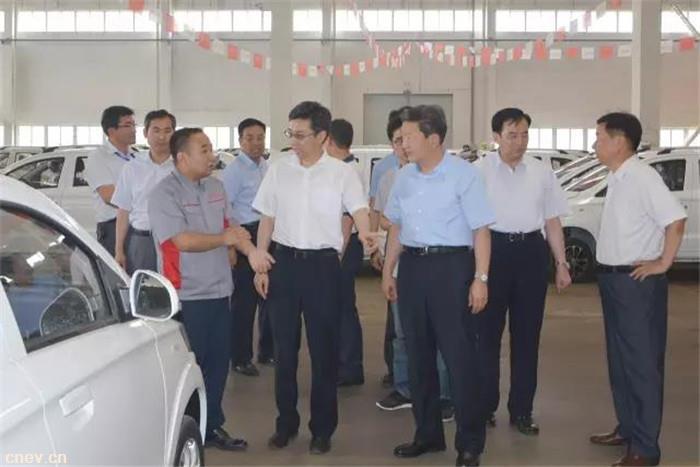 【瑞驰之声】前进脚步无止境 潍坊市委副书记李宽端莅临潍坊瑞驰汽车调研