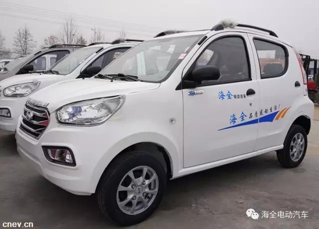 海全电动汽车全系产品亮相7月昆明中国最大电动车出口展