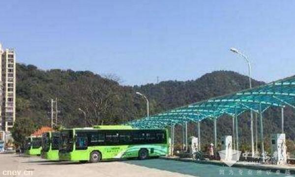 2018年底重庆主城21个公交站场将建500个充电桩