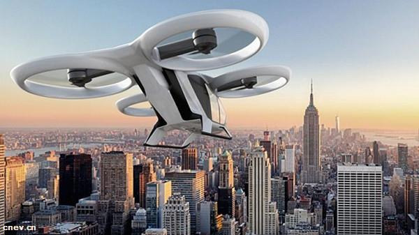 """空中客车研发的""""飞行汽车""""明年首飞,可自动驾驶"""