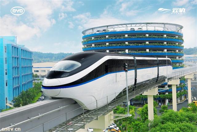 中国高端制造再出海  比亚迪助力埃及打造非洲首条跨座式单轨