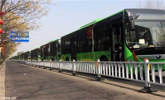 河南漯河200辆纯电动公交月底投入使用