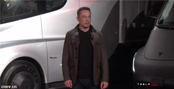 重磅!续航800公里!马斯克终于发布特斯拉电动卡车!