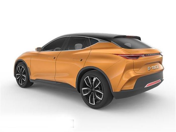 合众新能源车E-TAKE将亮相 比特斯拉帅太多!