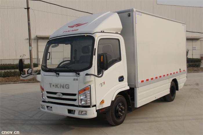 唐骏2款纯电动厢式运输车通过北京市2017年第三批新能源商用车备案