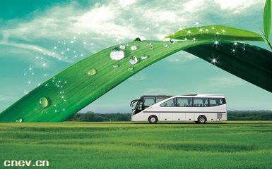 国内首款增程式新能源大巴车问世