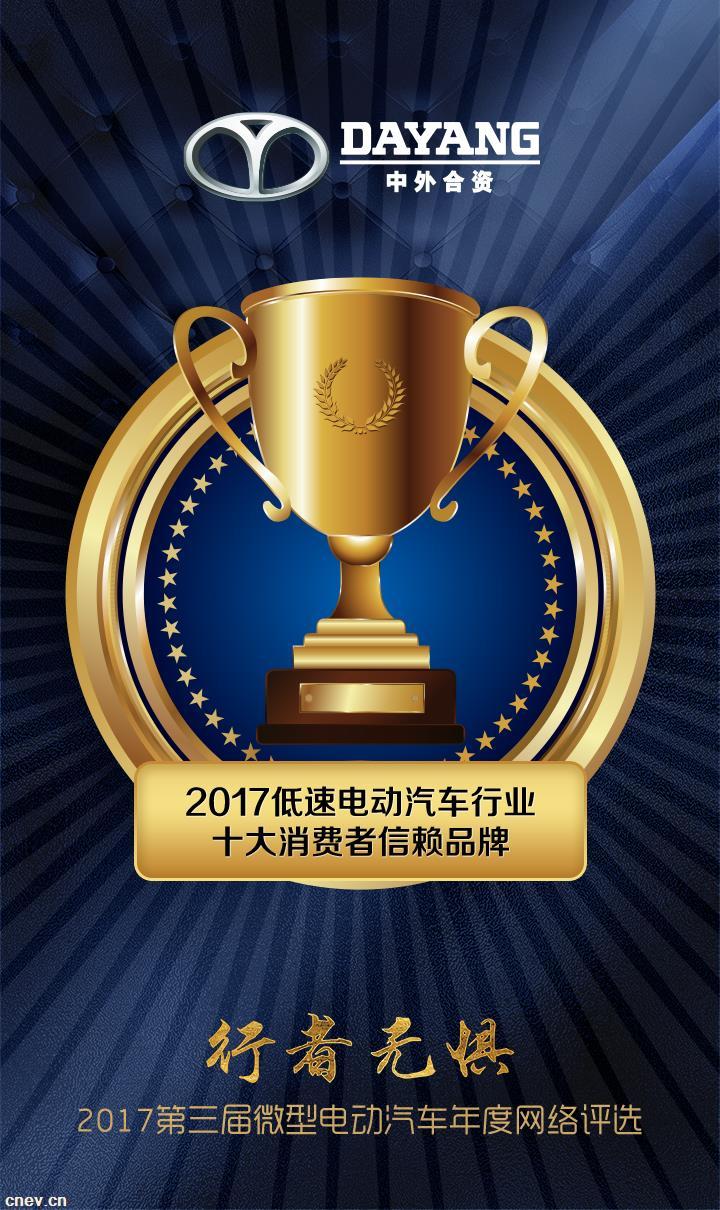 勇于创新 实力大阳 2017再次斩获行业3项大奖