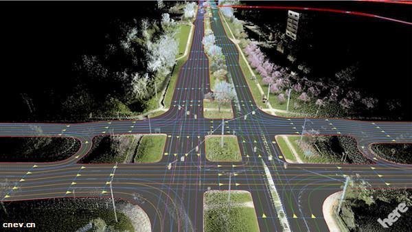 宝马与HERE签订商业合同,要把HERE HD Live Map装进量产车