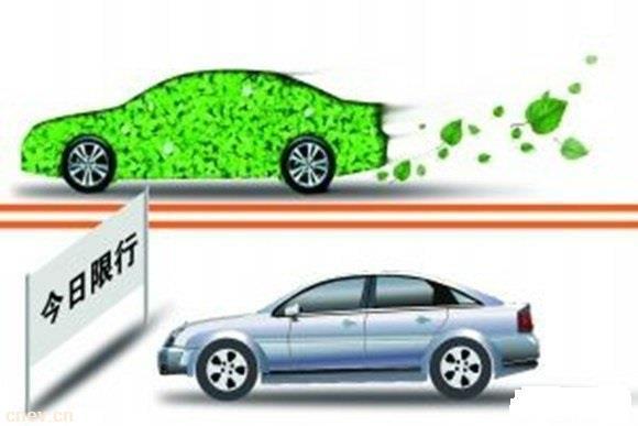 西安市实施限行交通管理措施 新能源车不限行