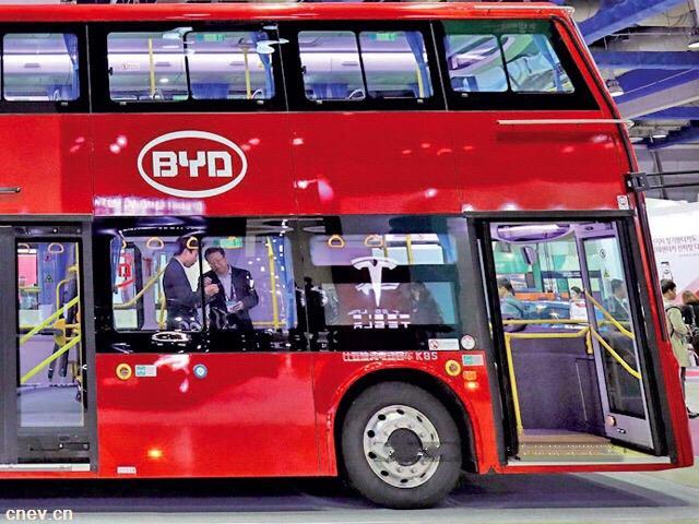 比亚迪计划两年内在印实现电动巴士零部件50%本土化