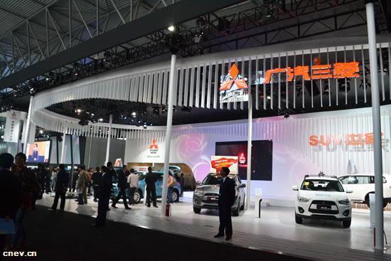 广汽三菱首款纯电动SUV观点车E more表态北京车展