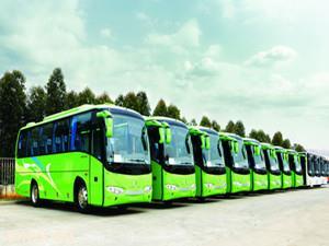 云南昌宁:15辆新能源公交车正式运营