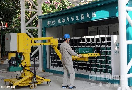 电动汽车可以换电池了:蔚来汽车国内首个换电站落户深圳