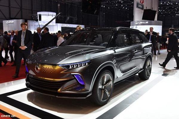 搭四驱系统 双龙电动SUV车型2020年..