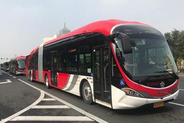 北京新能源公交占比达24% 持续向清洁能源倾斜