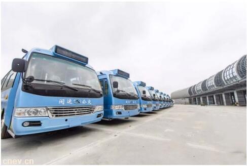 福建福州:平潭区新购置70辆纯电动公交