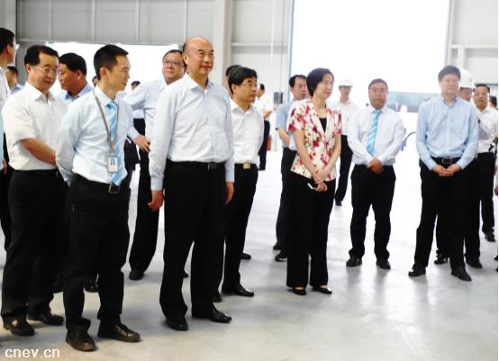 雷丁200亿新能源汽车生产基地落户咸阳