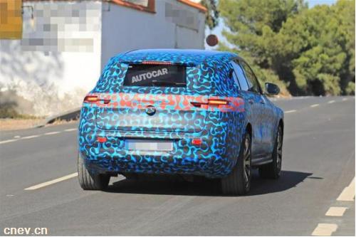 奔驰EQ C:未来Model X的竞争对手 2020年上市