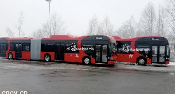 喜讯连连!比亚迪打造北欧最大纯电动铰接大巴车队