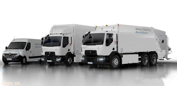 最大续航300公里 雷诺纯电动卡车发布