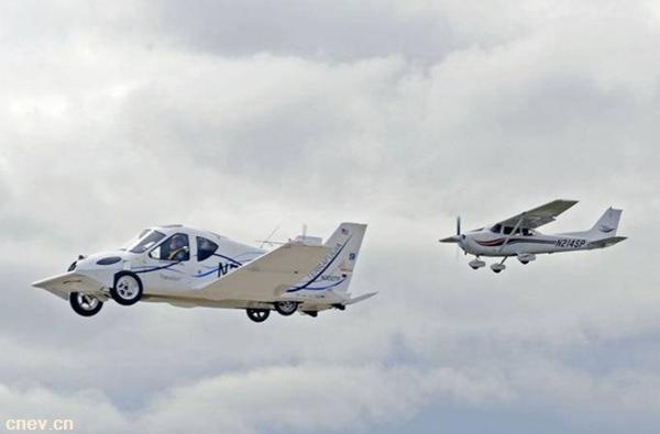 吉利明年将产飞行汽车  用的还是自家的磷酸铁锂电池